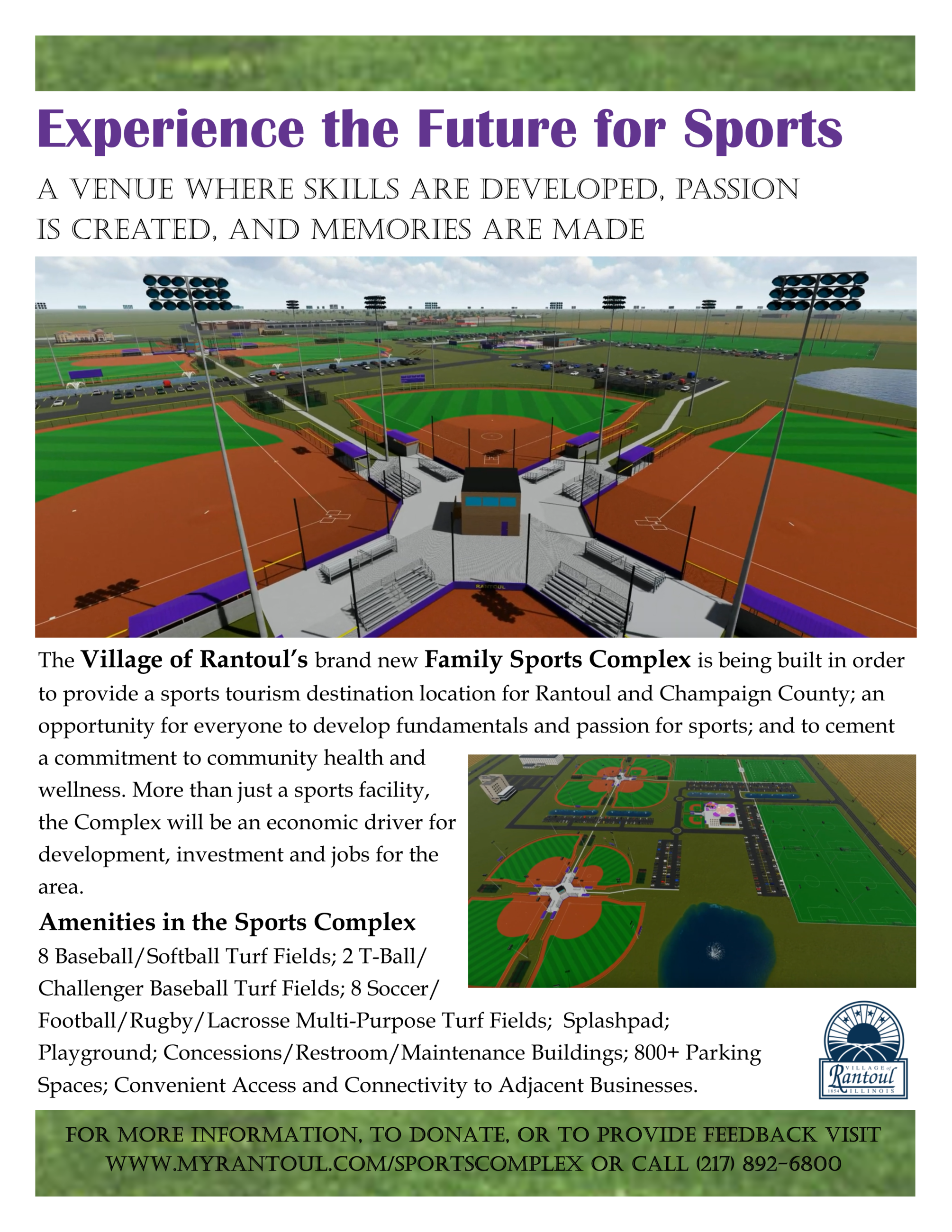 Sports Complex Promotional Flyer